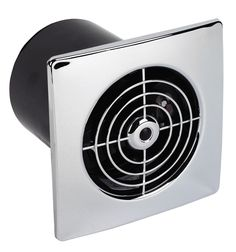 Manrose Flush Extractor Fan with Timer 100 mm | Departments | DIY at B&Q