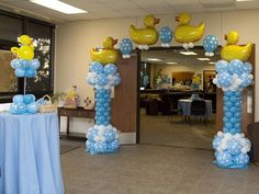 Rubber Ducky Baby Shower Ideas! Because everyone knows my sucky obsession!