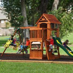 Adventure Play Sets Atlantis Wooden Swing Set
