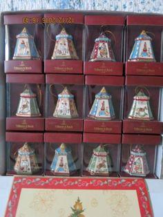 24-Tlg-Set-Villeroy-amp-Boch-V-amp-B-Christmas-Glocke-Weihnachten-Weihnachtsbaum-NEU-RAR