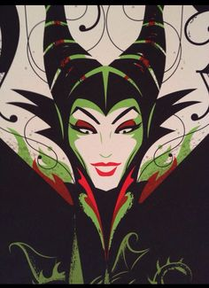 Maleficent - artist unknown Disney Fan Art, Film Disney, Disney Love, Disney Pixar, Dark Disney, Disney Magic, Sleeping Beauty Maleficent, Disney Sleeping Beauty, Maleficent Art