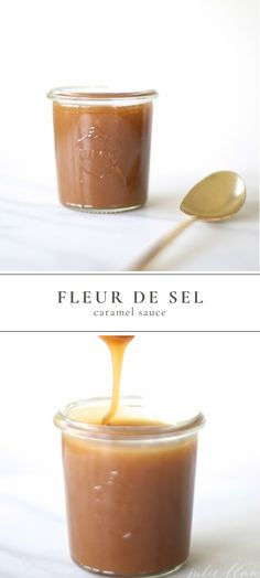 Low Carb Recipes To The Prism Weight Reduction Program Fleur De Sel Caramel Sauce Is Easy And Quick To Make And Is The Perfect Way To Elevate Your Desserts. Sweet, Salty, Rich And Creamy This 5 Ingredient Caramel Syrup Is A Must Have Recipe # Best Dessert Recipes, Sweet Desserts, Easy Desserts, Sweet Recipes, Easy Recipes, Dinner Recipes, Caramel Syrup Recipe, Caramel Sauce Easy, Tarte Caramel
