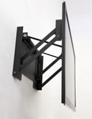 1000 images about flat screen over fireplace on pinterest for Comfortvu motorized tv mount