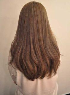 How to Grow Long Healthy Hair - Hair For Women İdeas Haircut For Thick Hair, Haircuts For Long Hair Straight, U Haircut, Oval Haircut, Long Hairstyles With Layers, Easy Hairstyles For Thick Hair, Hairstyle Short, Haircut Styles, Hair Updo