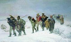 1812 - La Grande Armée de Napoleón -La invasión francesa se vió frustrada por una combinación de los rusos y del General Invierno