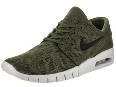 on sale ec249 6b61f Amazon.com  Nike Men s Stefan Janoski Max GreenSneakers - 9.5 D(M)