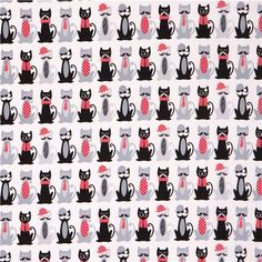 http://www.modes4u.com/en/kawaii/p27323_white-Timeless-Treasures-mustache-cat-animal-fabric-USA.html
