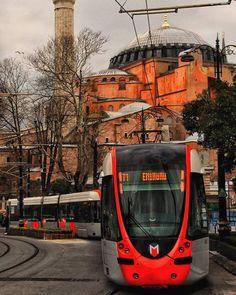 İyi akşamlar -Good evening From Ayasofya -Hagia Sophia ISTANBUL