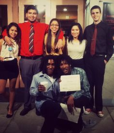 Lesly, Brandon, Daisy, Me Trent, Pablo and Carlos. #Friends #JAGClass #INI