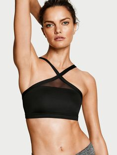 High-neck Sport Bra - Victoria Sport - Victoria's Secret