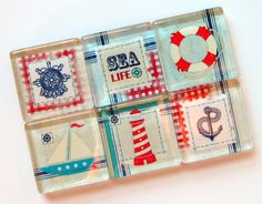 Nautical Magnet Set by Stuck Together Magnets, $10.50