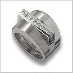 Wedding Genius: modern wedding rings with jeweler Claudia Endler - National Wedding and Marriage | Examiner.com
