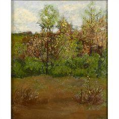 Fall Landscape - Willard Leroy Metcalf