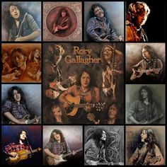 Rory Gallagher  art