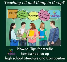 Homeschool co-op literature and composition