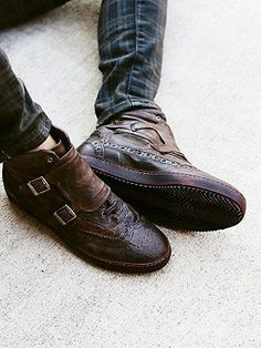 Free People Coleman Distress Sneaker
