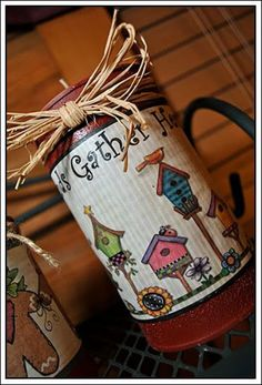tin can candle