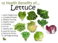 Health benefits of #Lettuce