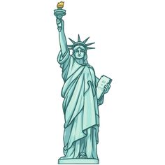 Statue Of Liberty Statue Of Liberty Drawing, Statue Of Liberty Crown, Statue Of Liberty Tattoo, Nyc Tattoo, World Tattoo, New York Drawing, Manhattan Times Square, Lower Manhattan, New York Illustration