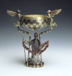 Treasures of the English Church  St Chad's Cup for Lichfield Cathedral, 1991  by Kevin Coates