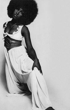 Marsha Hunt by Harry Peccinotti, 1968.