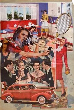 collage by Sir Eduardo Paolozzi, graphic design inspiration, collage design, vintage collage Cultura Pop, Nouveau Realisme, Eduardo Paolozzi, James Rosenquist, Pop Art Movement, Identity, Jasper Johns, Beautiful Collage, Roy Lichtenstein