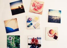 turn your instagram pictures into fridge magnets