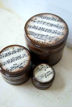 Sheet Music Boxes