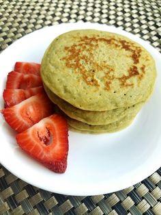 #matcha #pancakes #harinadealmendra #fitness #healthy