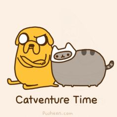 Catventure Time (animated gif)
