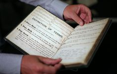 FA Display 1863 FA Minute Book At British Library - It started with a meeting in the Freemasons arms where somebody took control (Hull city born Ebenezer Cobb Morley) Hull City, Freemason, British Library, Arms, Display, The Originals, Books, Floor Space, Libros