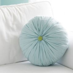 Get the look of a hand-smocked pleated pillow in much less time!
