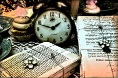 Even though i'm mainly focusing on the characters and story in 'Alice in Wonderland' I also want to include close ups of some of the props out of the film for example the clock. (Like this photograph)