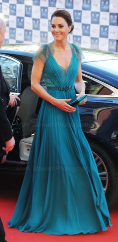 Front (Jenny Packham). I love her. And her style.