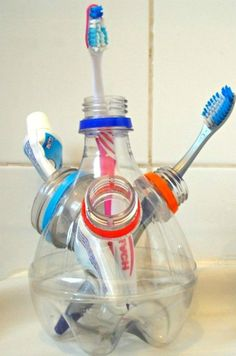 DIY – Pen stand – Toothbrush holder