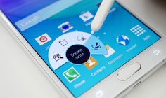 How to take a Screenshot on Samsung Galaxy Note 5 Using Palm Swipe