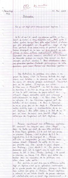 legal-et-legitime - 21 copies d'élèves parmi les plus drôles (pin.by.@ChansLau)