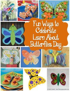 Learn About Butterflies Day - March 14th is Learn About Butterflies Day so why not use this as an excuse to learn more and try some fun activities. (http://www.holiday-favorites.com/learn-about-butterflies-day/)
