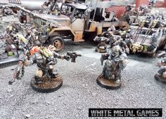 Mad Max Themed Deluxe 2000 point Ork Warhammer 40k Orks Army Commission Service | eBay