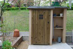 物置をおしゃれにして、ガーデニングをより楽しく(大阪府吹田市)1 Diy And Crafts, Shed, Exterior, Outdoor Structures, The Originals, House, Gardening, Random, Gardens