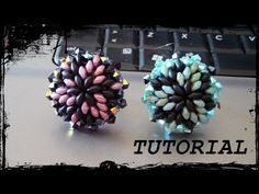 "* Tutorial Perline: Anello ""Eos"" con superduo, rocaille e bicono swarovski (feat Simona Scarp) - YouTube"