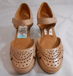 Naturalizer N5 Comfort GAIL Ginger Leather Slingback Sandals Womens Size  9.5 M