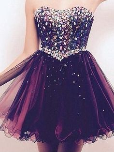 2017 Homecoming Dress Chic Sweetheart Tulle Short Prom Dress Party Dress JK206