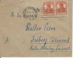 Ganzsache deutsches Reich 1917 Michael Nr. 99 Germania    eBay