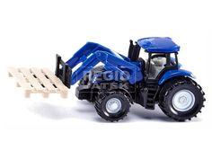 Traktor raklappal