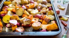 The key to roasting all kinds of vegetables is to know the right temperature for cooking them Dense, low-moisture vegetables (like the roots and squashes in this recipe) need lower heat and more time in the oven than vegetables with more moisture, like eggplant or zucchini Then simply toss your vegetables with oil and season with salt and pepper before roasting