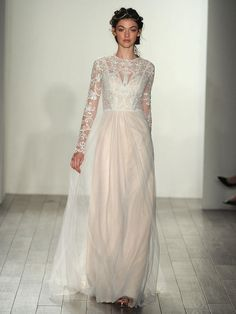 Beautiful Boho Dresses From Bridal Fashion Week | TheKnot.com