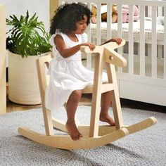 The Sawyer Rocking Horse is 'up-dated' design at its best, a modern Scandinavian take on an all-time nursery favourite. Your little one will spend many happy moments on their little pony. Horses For Sale, Happy Moments, Little Pony, Logan, All About Time, Scandinavian, Nursery, In This Moment, Children