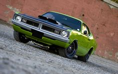 1972 Dodge Dart Pro Touring http://www.musclecardefinition.com/