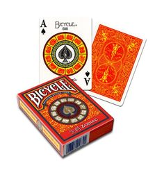Bicycle Zodiac Deck of Playing Cards - Chinese. US Playing Cards Zodiac Characters, Bicycle Playing Cards, Hidden Objects, Deck Of Cards, Card Deck, Diy Cards, Things To Sell, Fun, Games